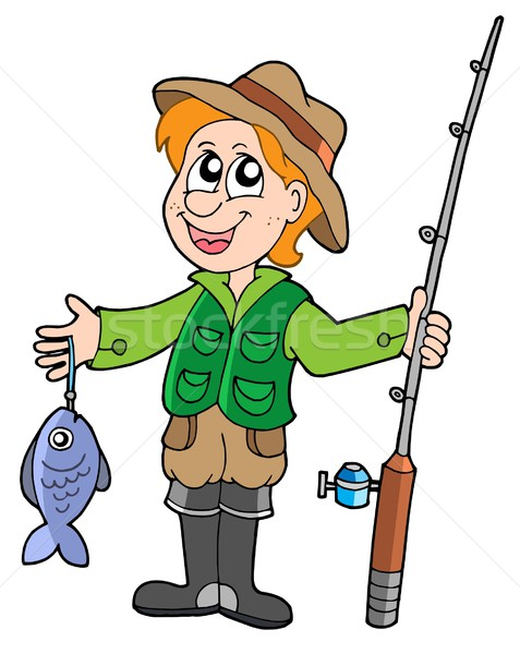 Fisherman clipart clip art. Download illustration