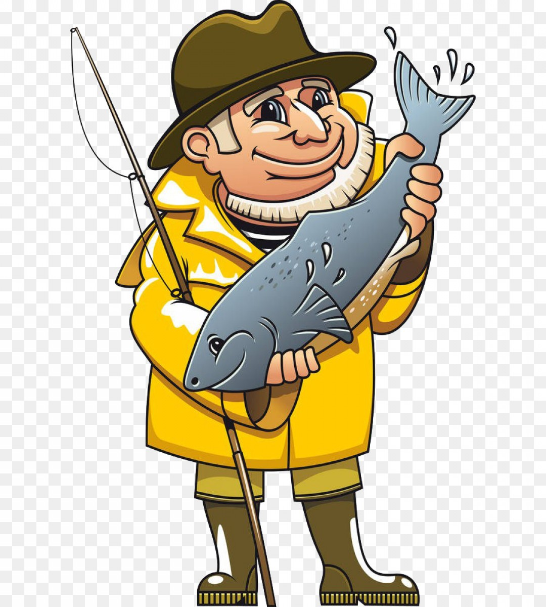 Fisherman clipart clip art. Png royalty free fishing
