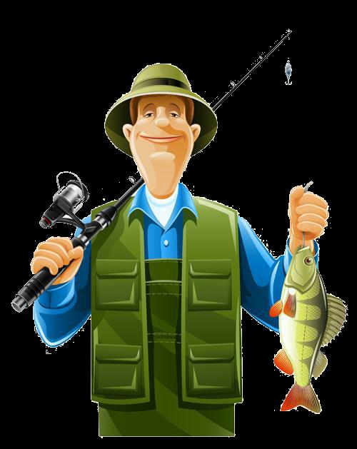 Fisherman clipart community helper.  e f a
