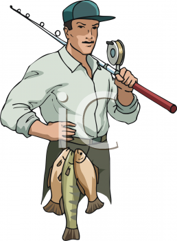 Fisherman clipart community helper.  clipartlook