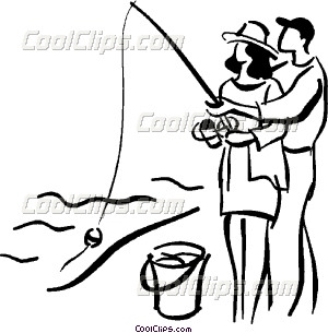 Fisherman clipart couple fishing. Black and white free