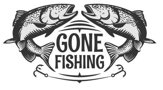 Fishing clipart fish hunter. Logo on svg hunting