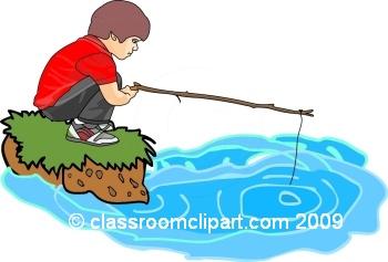 Fisherman clipart fish pond. Fishing gclipart com