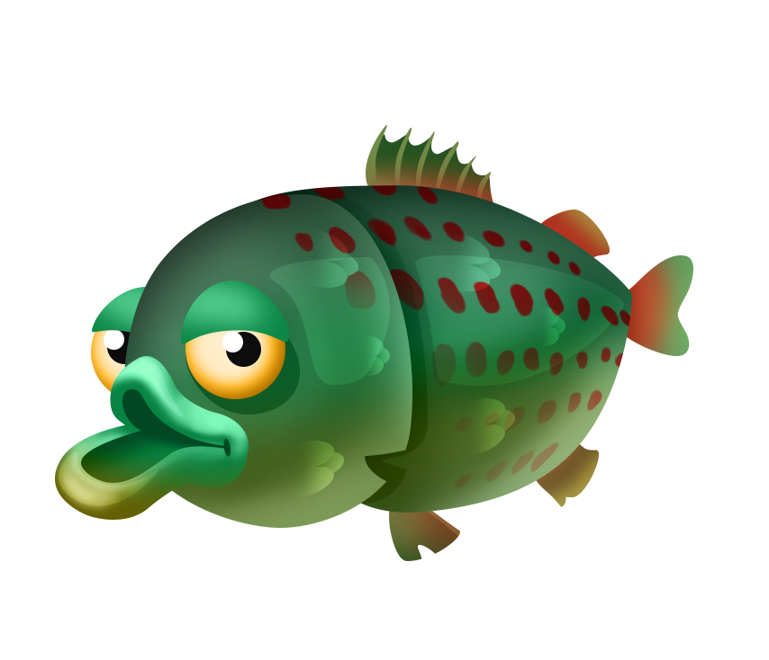Trout clipart speckled trout. Fishing list hay day