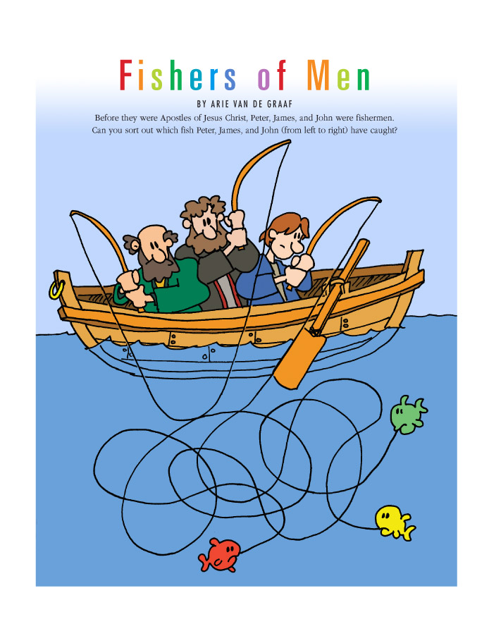 Fishers of men . Fisherman clipart fishing peter