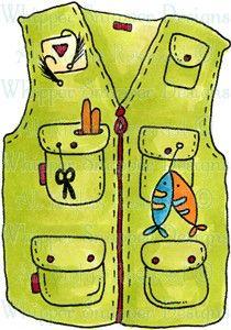 Fisherman clipart fishing vest. Ct ba calendar ideas