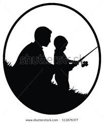 Images of and child. Fisherman clipart grandpa fishing