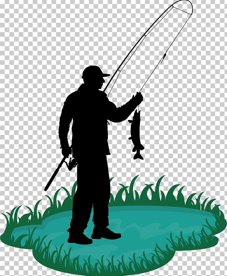 Fisherman clipart man fishing. Rod cartoon png angling