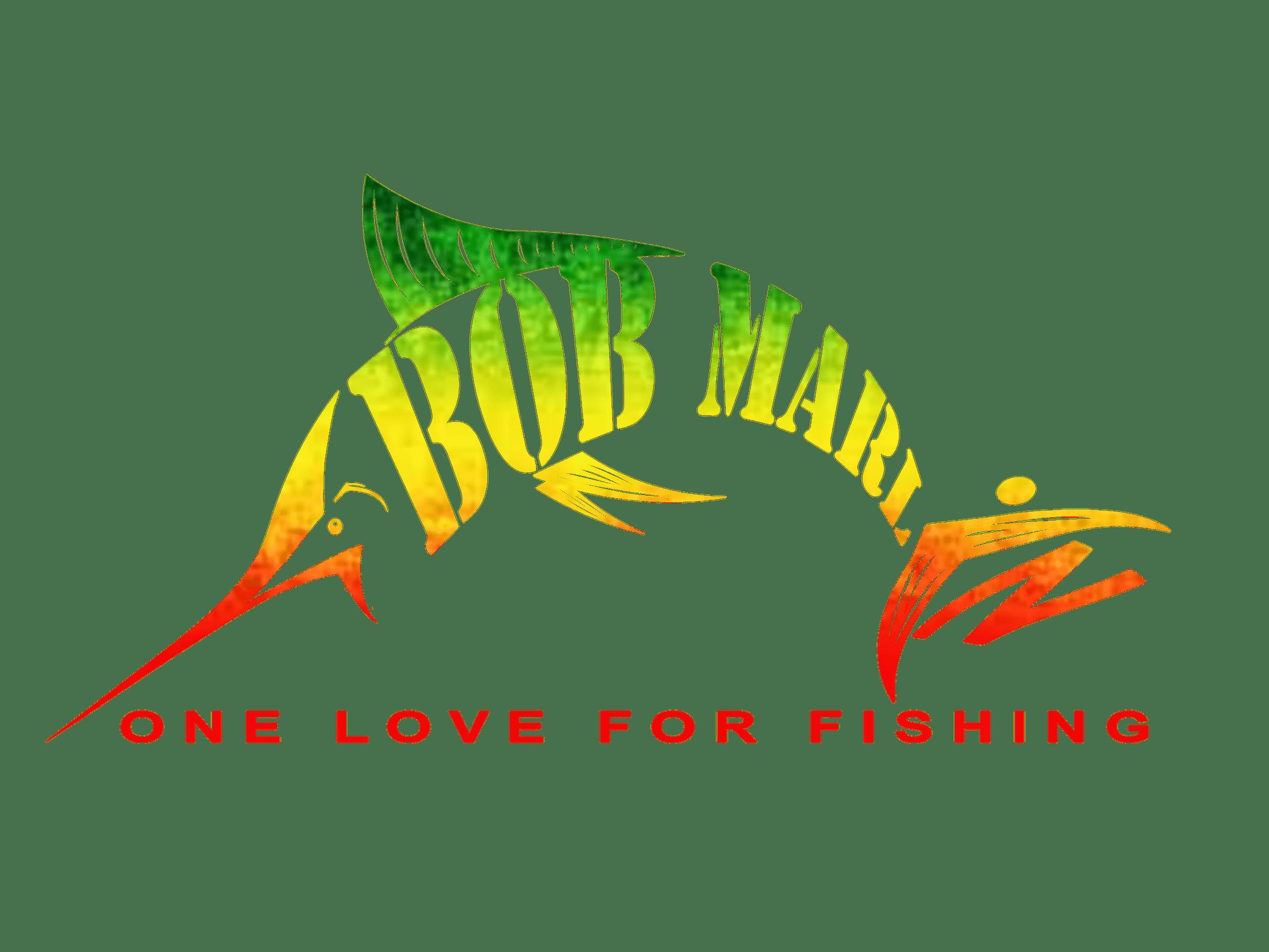 Bob gear one love. Fisherman clipart marlin fishing