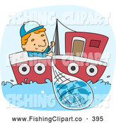 Royalty free stock fishing. Fisherman clipart occupation