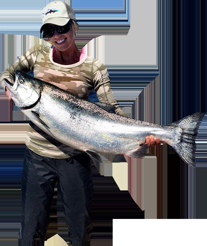 Hakai lodge british columbia. Fisherman clipart salmon fishing
