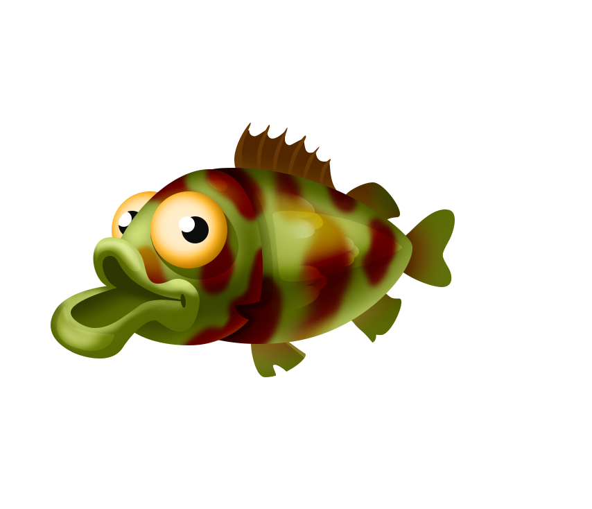Trout clipart shadow. Bass hay day wiki