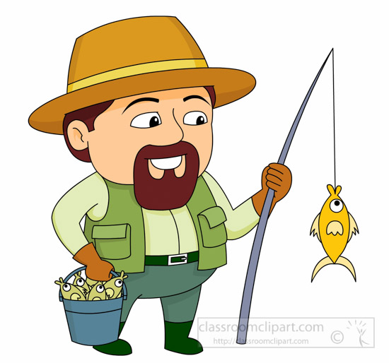 Fishing clipart. Sports free to download