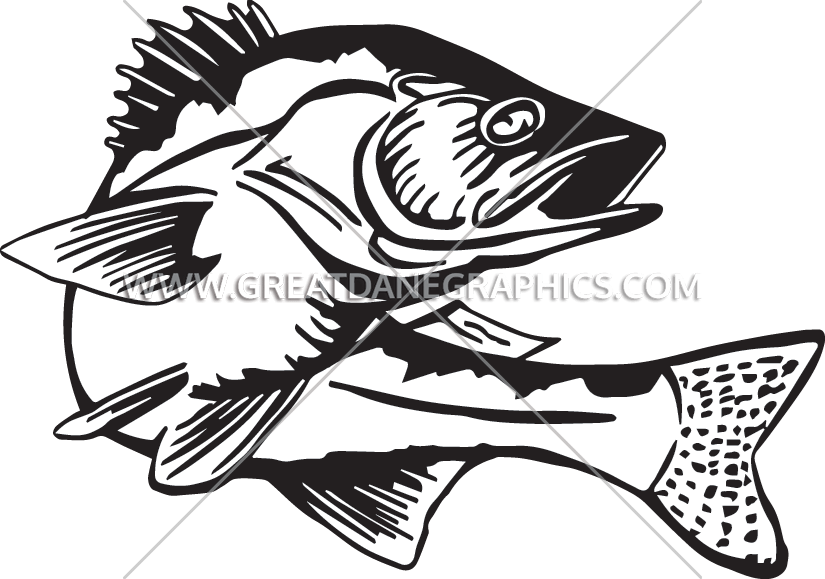 Retro clipart fishing. Walleye cliparts for you