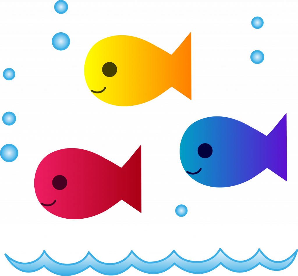 Strong pictures of fish. Fishing clipart bowl