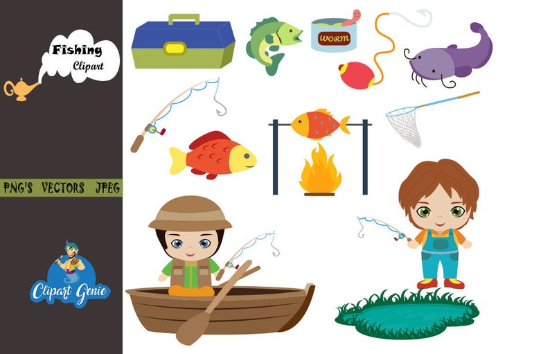 Fishing clipart day. Father s tackle camping