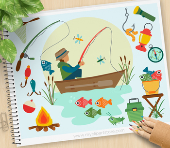 Fishing clipart day. Father s boat camping
