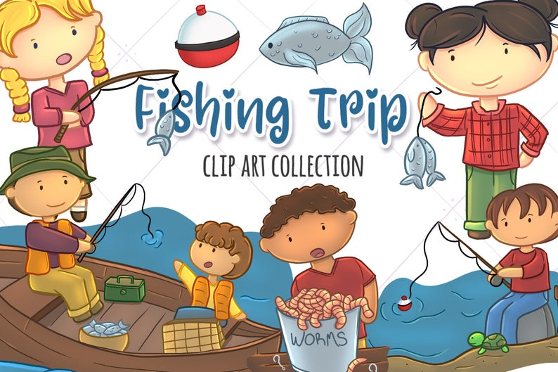 Trip father s clip. Fishing clipart day