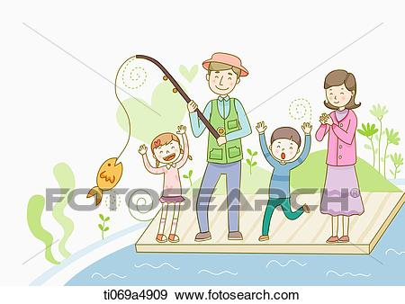 Fishing clipart family fishing. Cliparts x making the