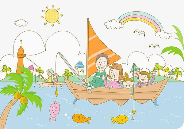 Portal . Fishing clipart family fishing