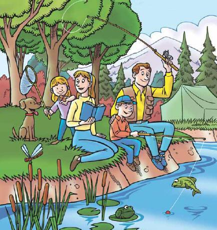 Fishing clipart family fishing. Free cliparts download clip