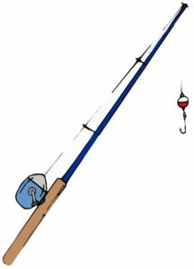 Pole clip art crafts. Fishing clipart fishing equipment
