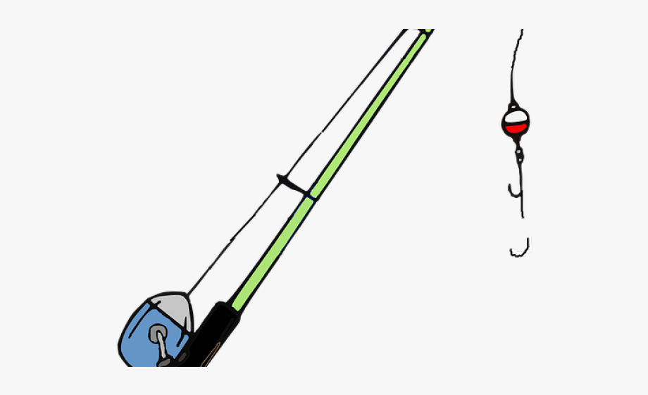 Fishing clipart fishing equipment. Pole transparent background rod
