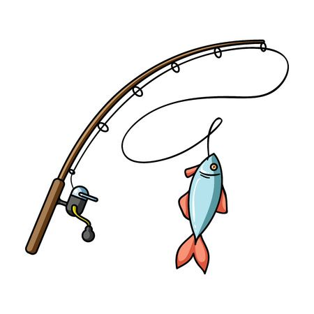 Fishing clipart fishing pole.  clipartlook