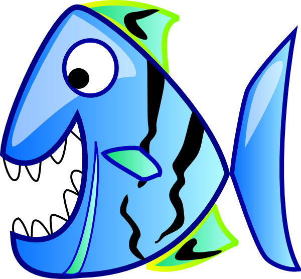 Fish in water clip. Fishing clipart fishing pond