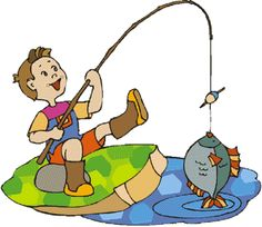 best gone images. Fishing clipart go fish