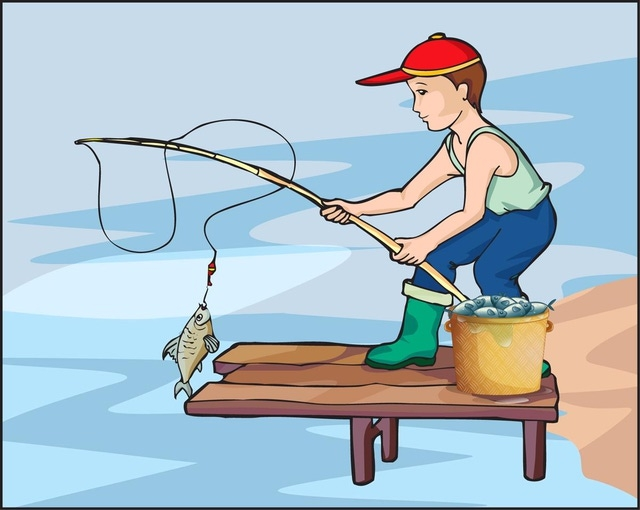 Fishing clipart go fish. Free cliparts download clip