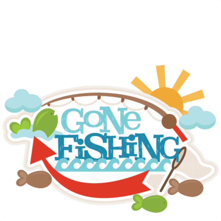 Fishing clipart gone fishing. Diy design pictures clip
