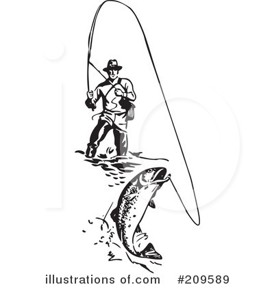 By bestvector . Fishing clipart illustration