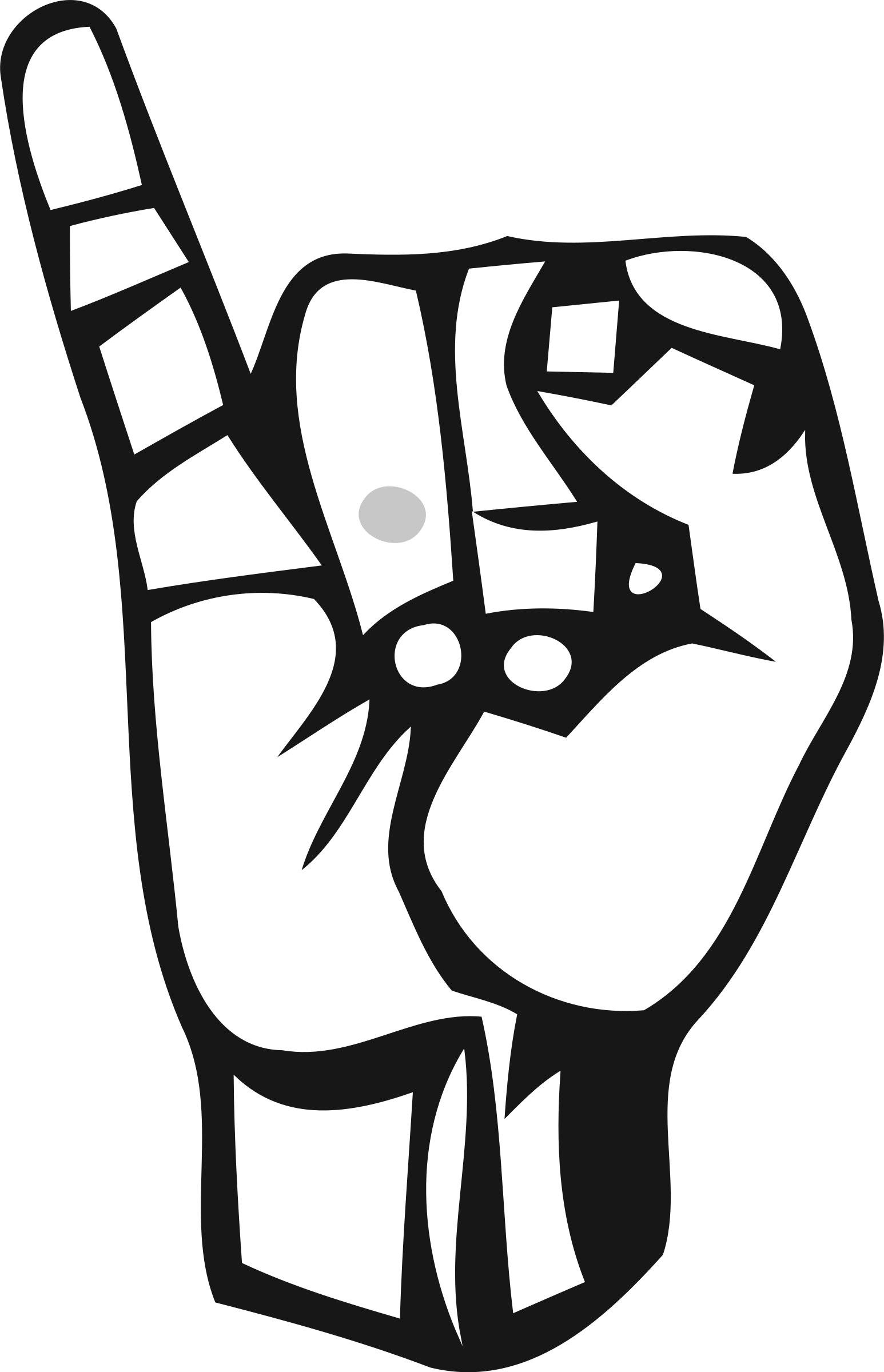 Hand clipart hang loose. I love you sign