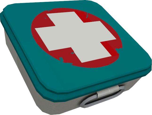 Image medium health pickup. Fist clipart aid kit