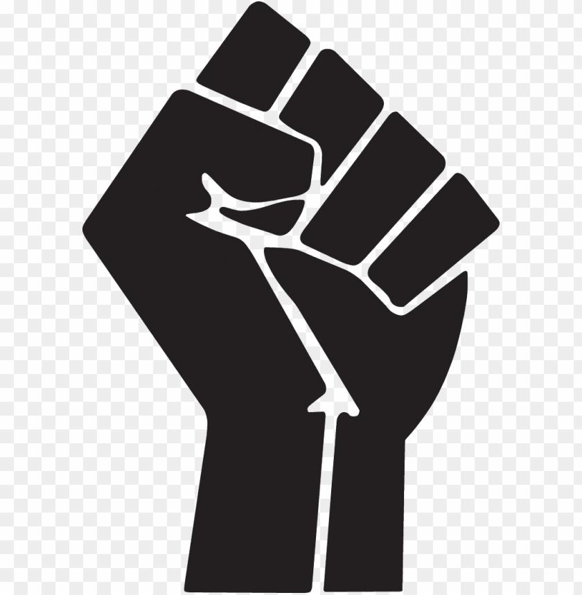 Fist clipart air icon. Raised symbol clip art