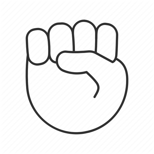 Fist clipart air icon.  smileys people hand
