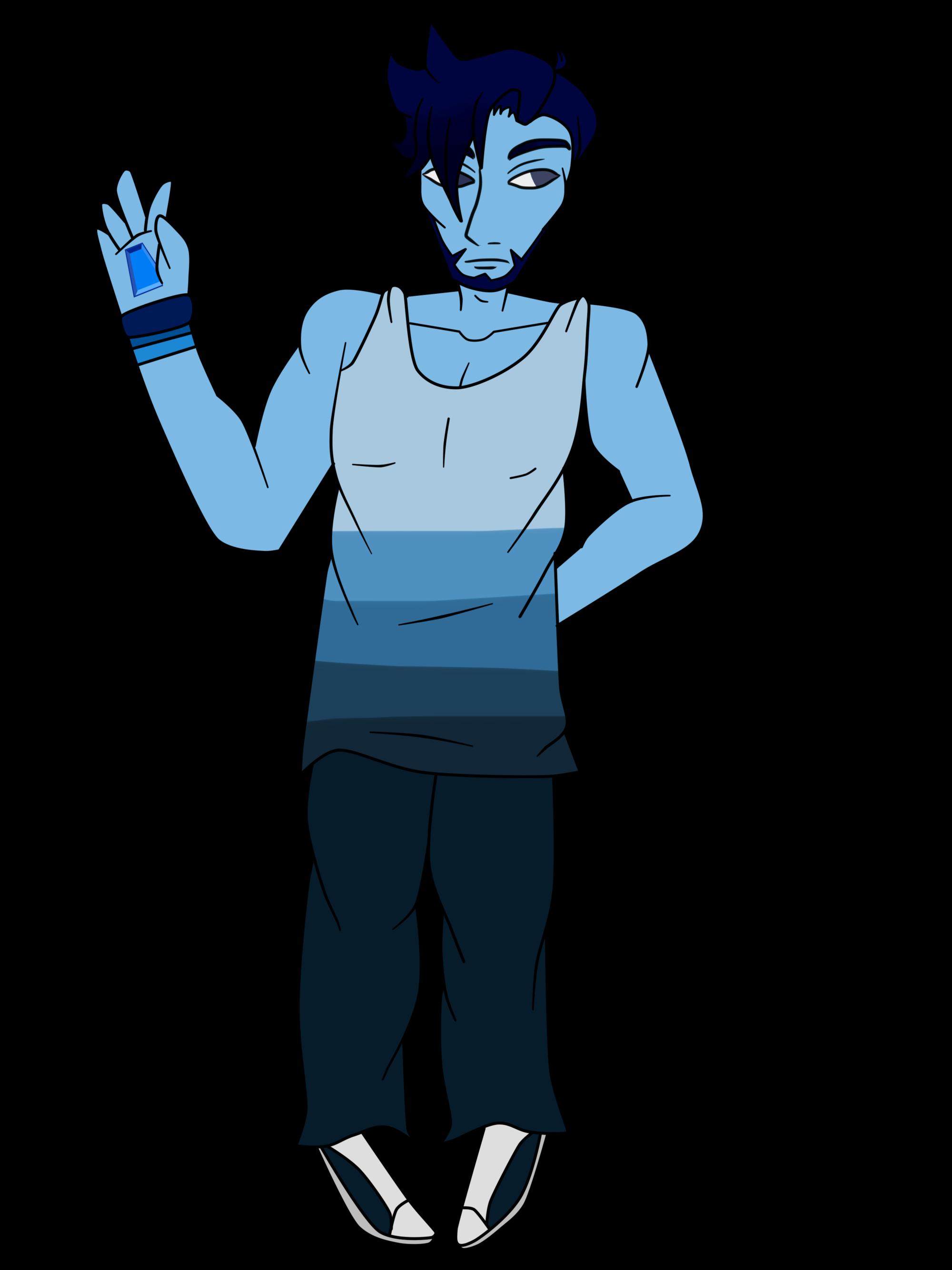Cobalt aspen steven universe. Fist clipart air sketch