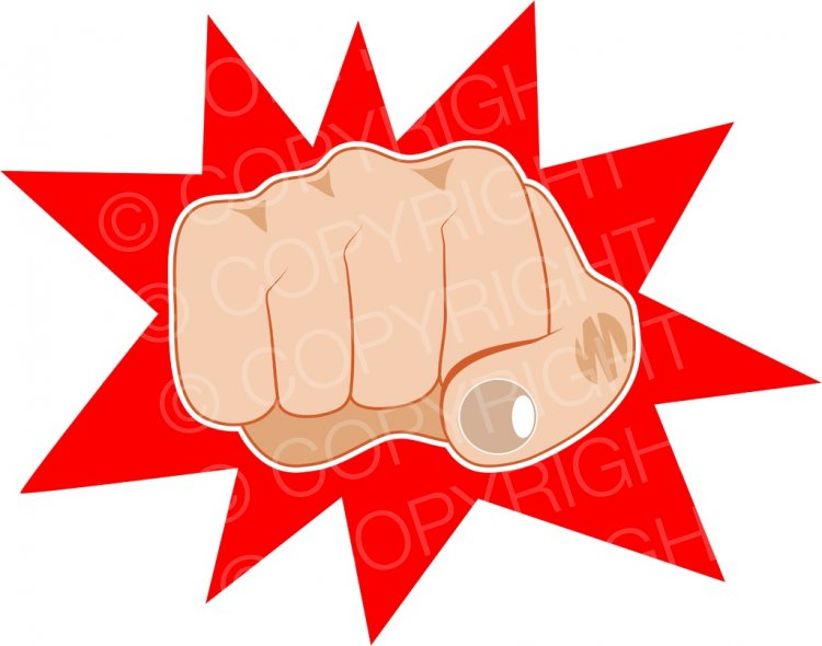 A clenched anatomy clip. Fist clipart angry fist
