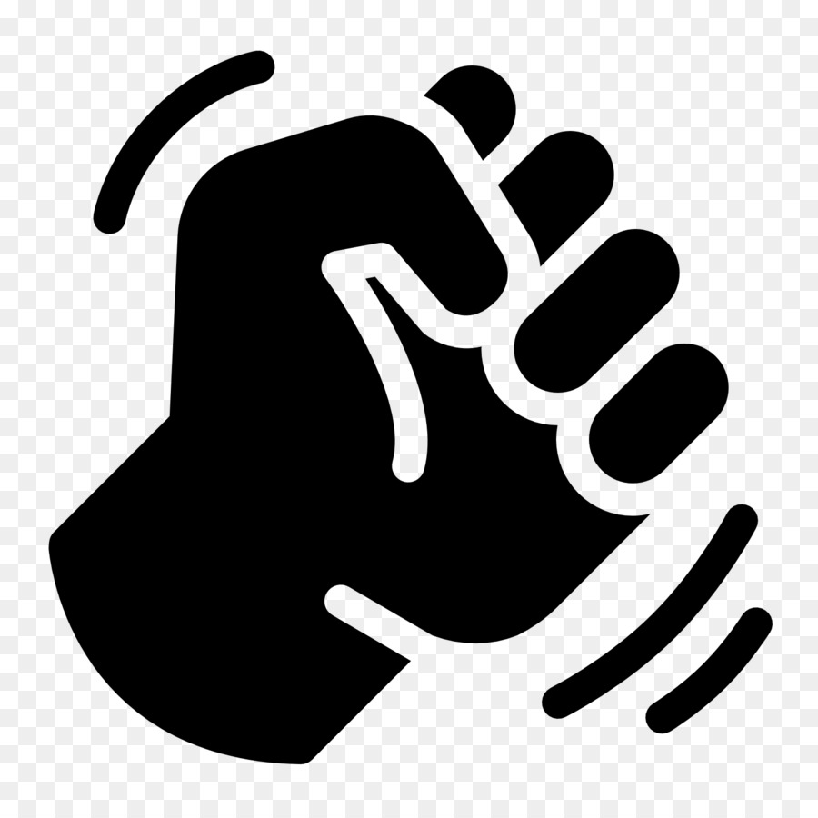 Fist clipart angry fist. Black line background png