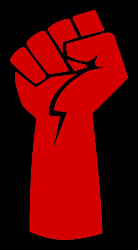 Power medium image png. Fist clipart back fist
