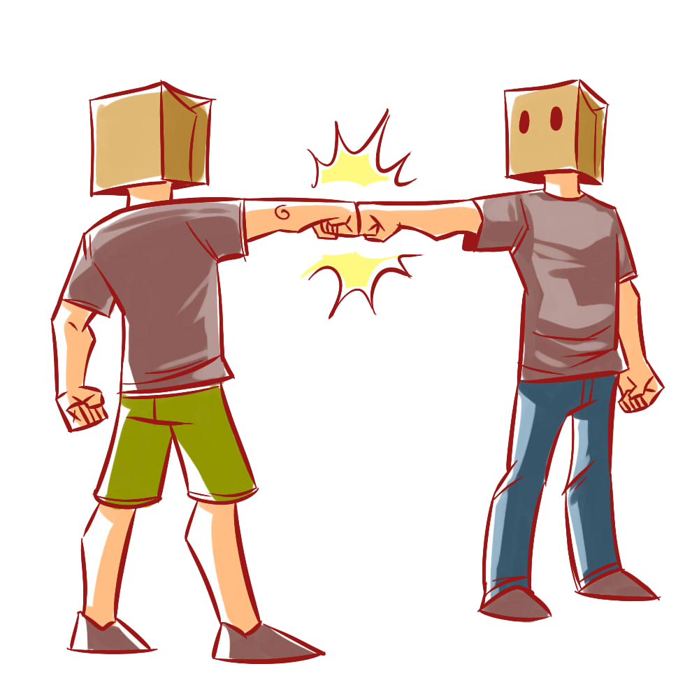 Fist clipart back fist. Image bro know your