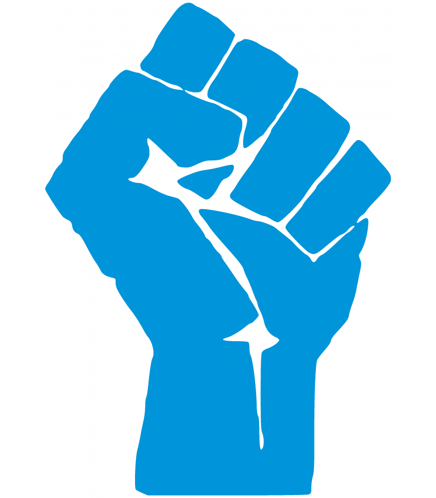 Panther clipart black panther party. Raised fist power african