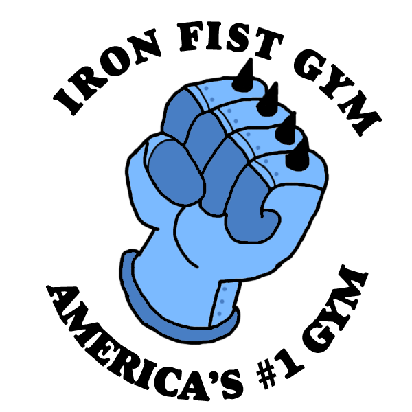 Iron fist at getdrawings. Gym clipart finger gym
