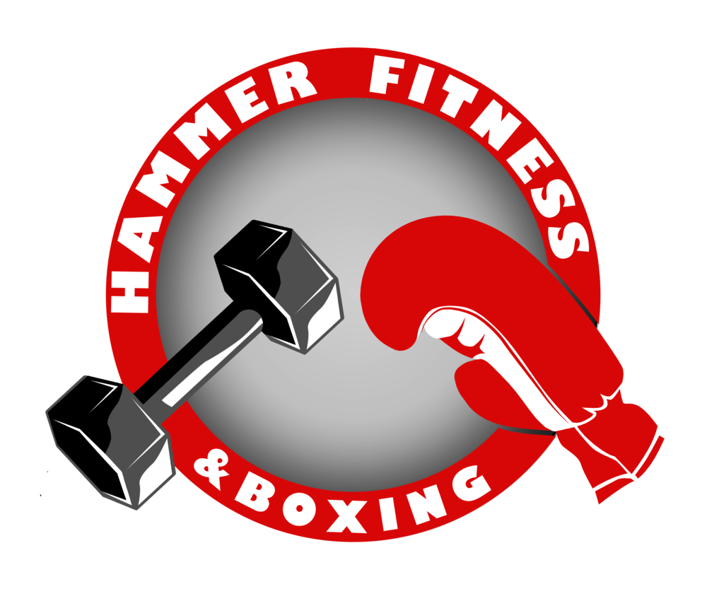 Hammer fitness . Fist clipart boxing