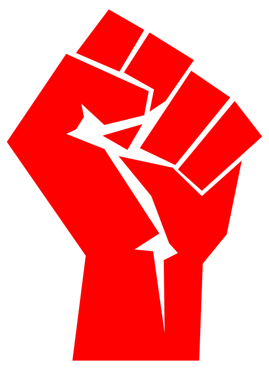 Clipartist net clip art. Fist clipart equality