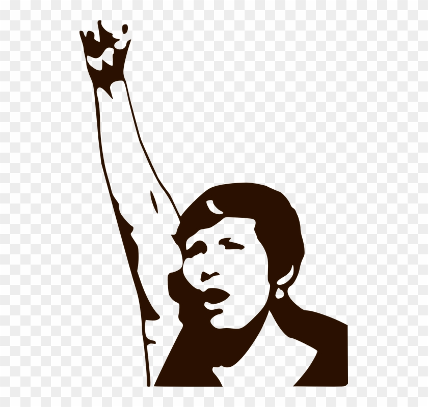 Fist clipart female. Transparent background women power