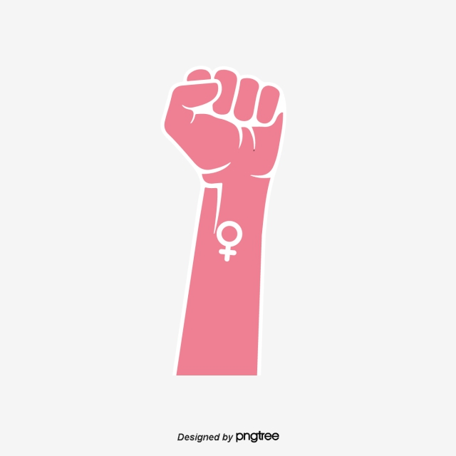 Symbol png images vector. Fist clipart female