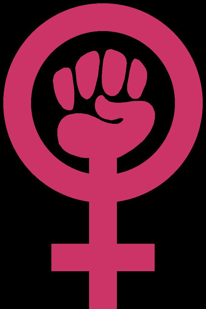 File feminism symbol svg. Fist clipart feminist