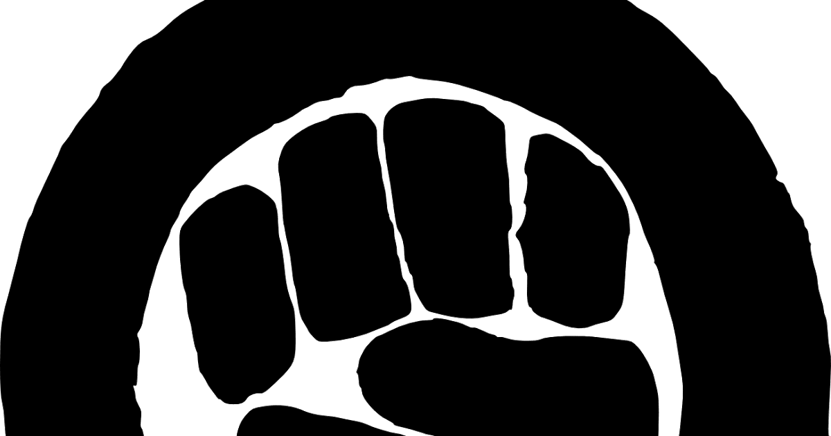 Not sorry feminism and. Fist clipart feminist